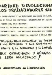 thumbnail of 1973 – septiembre 12. Solidaridad revolucionaria con los trabajadores chilenos