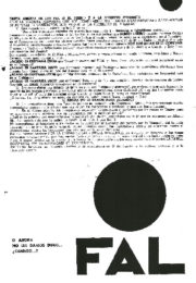 thumbnail of Carta abierta de las FAL al pueblo