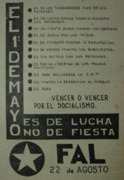thumbnail of El 1 de Mayo es de lucha