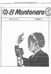 thumbnail of El Montonero 11