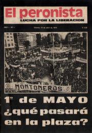 thumbnail of El Peronista Lucha por la Liberacion N 1
