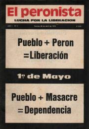 thumbnail of El Peronista Lucha por la Liberacion N 2