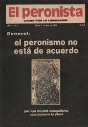 thumbnail of El Peronista Lucha por la Liberacion N 3