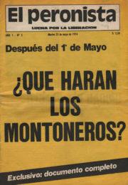 thumbnail of El Peronista Lucha por la Liberacion N 5