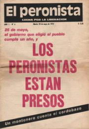 thumbnail of El Peronista Lucha por la Liberacion N 6