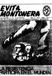thumbnail of Evita Montonera 21