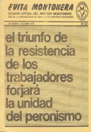 thumbnail of Evita Montonera 22