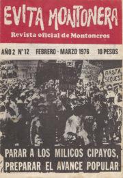 thumbnail of Evita Montonera n 12
