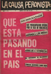 thumbnail of La Causa Peronista N 3