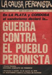 thumbnail of La Causa Peronista N 6