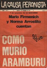thumbnail of La Causa Peronista N 9