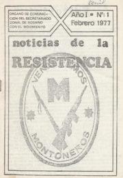 thumbnail of Noticias de la Resitencia