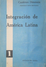 thumbnail of 1959. Francisco R. Santucho. Integracion de America Latina