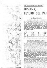 thumbnail of 1961 octubre. Boletin Mensual del FRIP N 1