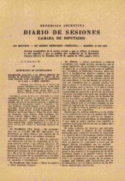 thumbnail of 1964 agosto. Diario Sesiones Diputados I