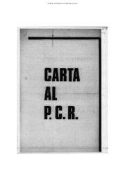 thumbnail of 1969 agosto 20. Carta al PCR