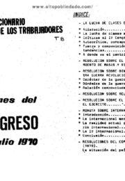 thumbnail of 1970 julio. Resoluciones del V congreso2