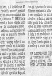 thumbnail of 1971 septiembre. Por el retorno del pueblo con Peron al poder