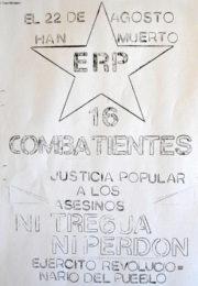 thumbnail of 1972 agosto. Han muerto 16 combatientes