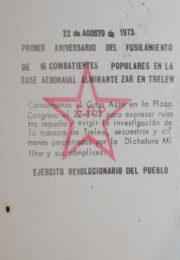 thumbnail of 1973 – agosto 22 – Primer Aniversario de las masacre de Trelew