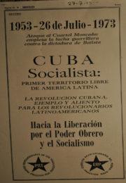 thumbnail of 1973 agosto. Solicitada. Cuba Socialista