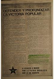 thumbnail of 1973 junio 22. Defender y profundizar la victoria popular