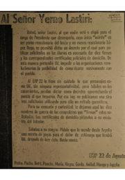 thumbnail of 1973 septiembre 11. Al sennor yerno Lastiri