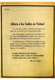 thumbnail of 1973 septiembre 11. Gloria a los caidos en Trelew