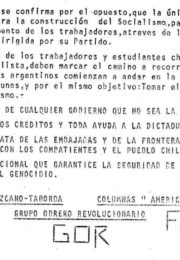 thumbnail of 1973. Chile GOR