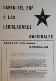 thumbnail of 1974 – enero 22 – Carta del ERP a los legisladores