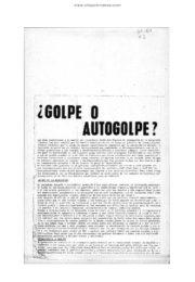 thumbnail of 1974 julio. Golpe o Autogolpe