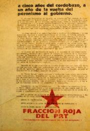 thumbnail of 1974 mayo. A 5 anos del Cordobazo