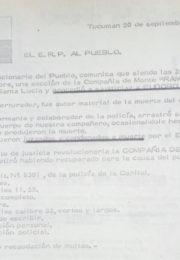 thumbnail of 1974 septiembre 20. Tucuman. El ERP al Pueblo