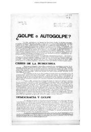thumbnail of 1974 septiembre. Golpe o Auto golpe