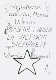 thumbnail of 1976. Santucho Menna Urteaga Presentes