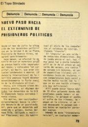 thumbnail of 1978. Exterminio de Presos