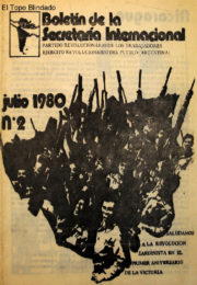 thumbnail of 1980. Boletin Secretaria Internacional N 2