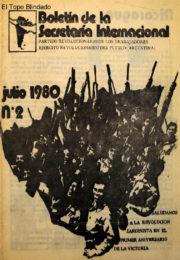thumbnail of 1980. Boletin Secretaria Internacional N 2