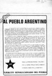 thumbnail of Al pueblo argentino