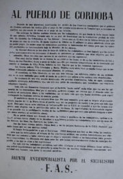thumbnail of Al pueblo de Cordoba