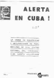 thumbnail of Alerta en Cuba