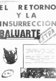 thumbnail of Baluarte Extra. El retorno y la insurreccion. Diciembre 1964