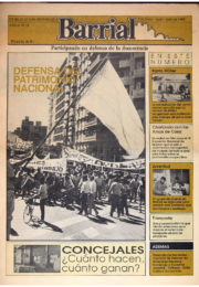 thumbnail of Barrial N 21. junio-julio 1988