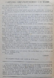 thumbnail of Carta de Olmedo a su madre