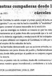 thumbnail of Carta de nuestras companneras