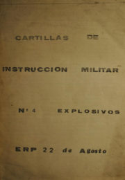 thumbnail of Cartilla Militar N 4 Explosivos