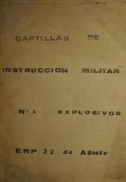 thumbnail of Cartilla Militar N 4 Explosivos