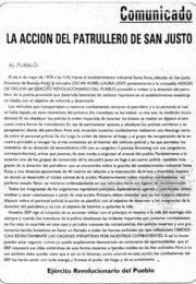 thumbnail of Comando de San Justo