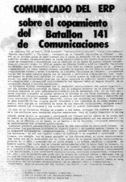 thumbnail of Comunicado por operatico Batallon 141
