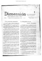 thumbnail of Dimension N 1